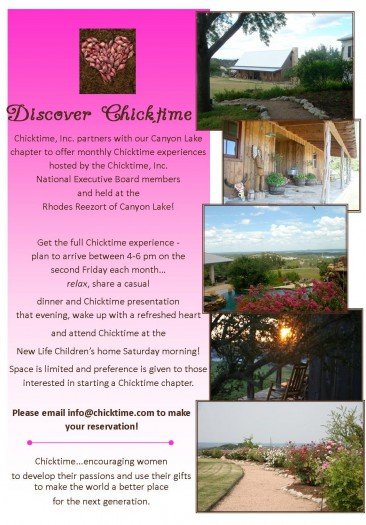 Discover Chicktime invite