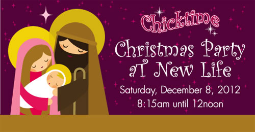 Chicktime Christmas Party at New Life