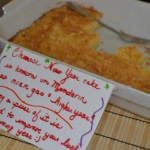 Chinese Coconut Cake