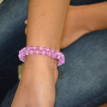 A finished bracelet