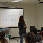 Verlyn talks on choosing education