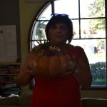 Higgi and her Pumpkin