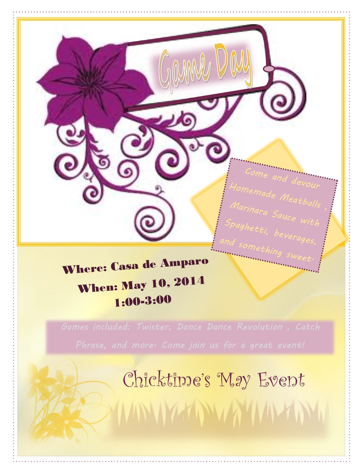 May Event