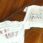 Painted T Shirts