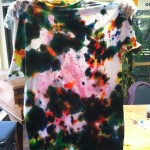 Tie Die T Shirt Girls (1)