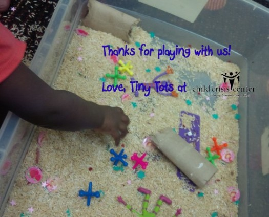 Tiny Tots Thank you