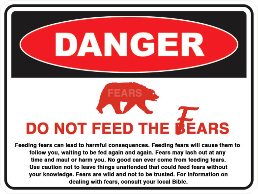 dp not feed bears