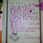 A Letter to Santa...